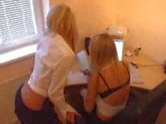 2 german blondes suck 2 cocks