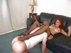 Stockings Domme Strapons Pantyhose Guy