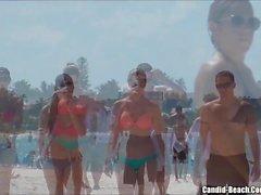 Sexy Hot Ass Bikini Girls beach Voyeur HD Video