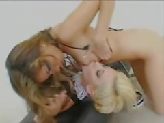 two hot girl2girl loves asshole fisting