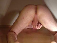 Bend over cum shot - Entsaften von hinten