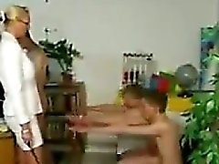 Teacher Spanking Her Students