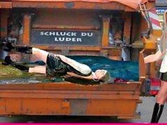 Die Latex Maid Luder # Scheiss Kleidträger I Scheiss Transvestitenschwein