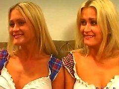No camera tricks or fakerythese are real British twins Misha and Sasha