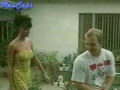 Anita Blond in the garden