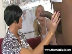 Milf going black - Busty moms fucked by huge black cock 20