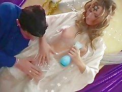 Fairy Tackles A Big Dick