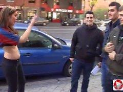 Hanna Montada Samantha Sainz - Gran Clasico Porno Madrid Vs Barcelona