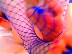 webcam oyuncak ile çok sıcak Camgirl mastürbasyon gösterisi