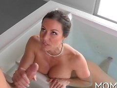Exquisite blowjob les