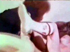 vintage teen in pigtails