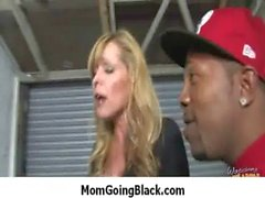 MILF mommy rides black dong 32