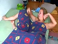 lesbians,strapon and cum covering