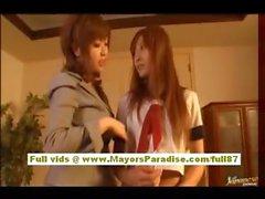 Мийу Хошино Китайская школьницей любит быть трахал из-за спины
