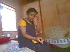Bangla desi bhabi Rima take a risk to showing Devar