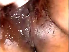 Indian Squirter - Up Close Masturbating