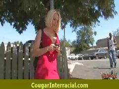 Cougar Pounce On Black Dick 22