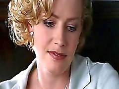 Elisabeth Shue hot showing us her cleavage while making out