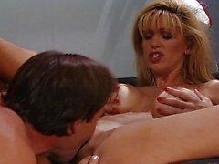 Horny nurse fucked by policeman