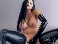 leather gloves AUDREY BITONI