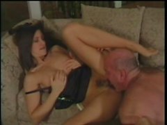 Ravishing brunette wife exchanging oral pleasures with her hung lover