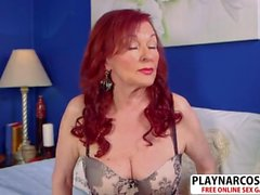 Perfect Stepmom Katherine Merlot Riding Cock Sweet Hot Bud