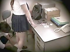 Schoolgirl caught stealing blackmailed 09