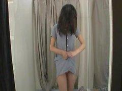 Breast Grope Prank in Shop
