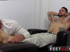 Denim foot job male bare feet denim fetish and male foot fet