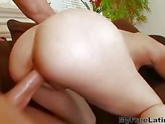 Sexy latina pussy hole drilling