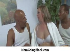 Mommy receive a really huge black cock 13