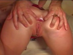 Sizzling Double Cock Drilling