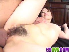 Mika Hukunaga, house wife, fucked in dirty threesome