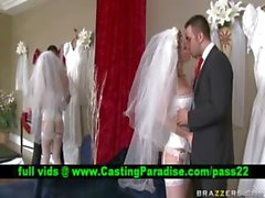 Kayla Paige beeindruckenden Braut vollbusige