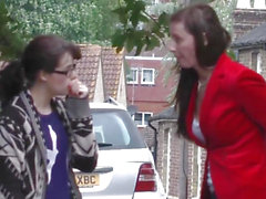 English aged pickingup blameless schoolgirl