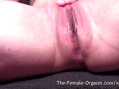 Dripping Wet Pussy Selfie Bating to Multiple Pulsing Orgasms