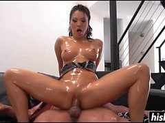 Asa Akira is a cock hungry slut