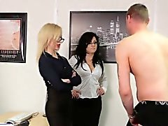 Cfnm birt mistress blows