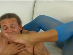Dominant Female Christina Aguchi Makes A Male Slave Her Bitch