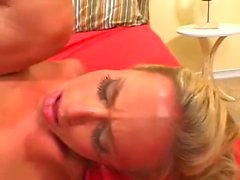Blonde Milf Is Crazy For A Cock