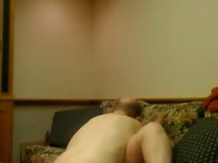 Bbw Angie Office Sex on Boss Couch