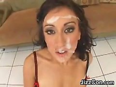 Hot Chicks Getting Facials Compilation