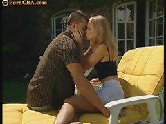 Busty Teeb Brunett getting anal fucked