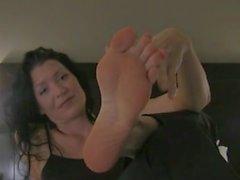 Chastity Feet JOI POV