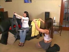 punishment of two brunettes