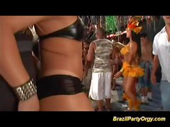 real brazilian anal carneval party
