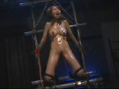 intense electric torture session