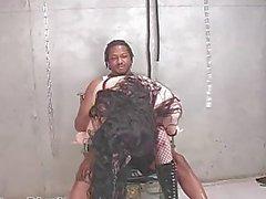 alissa black spank