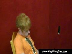 Homosexuell weiße Jungen Wichsen erwischt schwarze Kunden - Homosexuell Hand sowie Glory 20