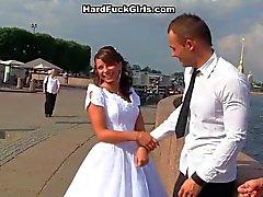 De novia intercambio con los mejores amigos